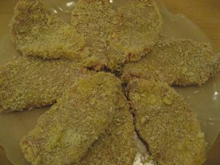 Breaded cutlets, no hand