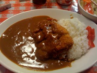 Cafe Mami pork cutlet curry