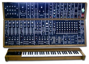 Moog Modular 55 synthesizer, constructed 1975